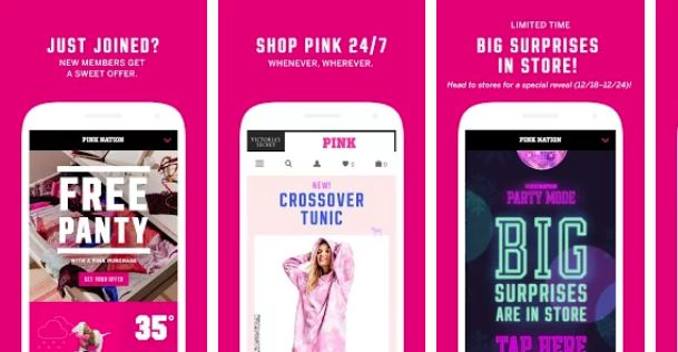 Victoria Secret Pink gamified app.jpg