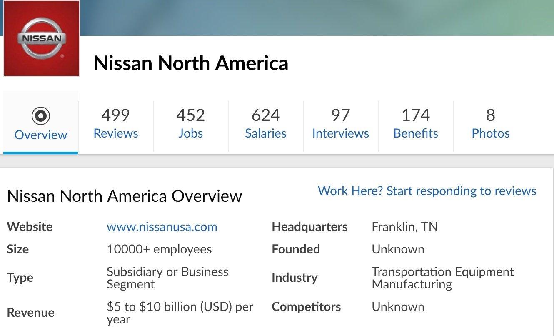 Nissan glassdoor employer profile.jpg