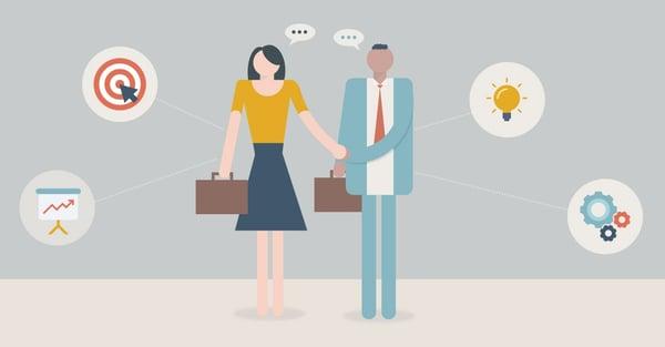 Prácticas en formación de ventas B2B