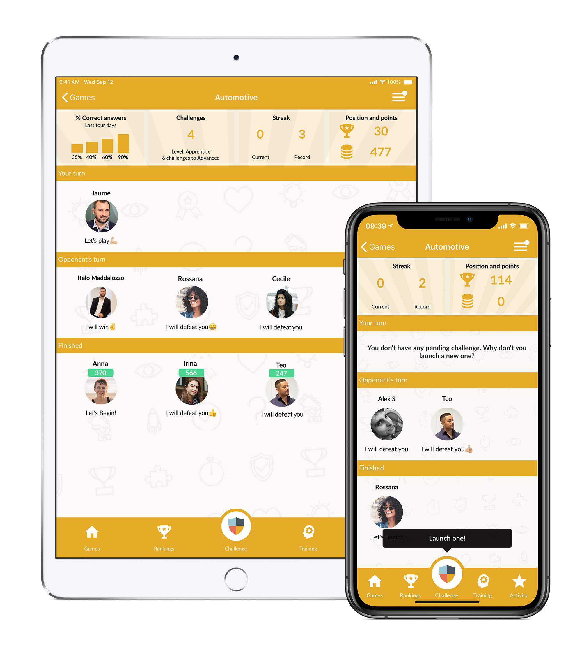 Atrivity, Gamification in business, devices app