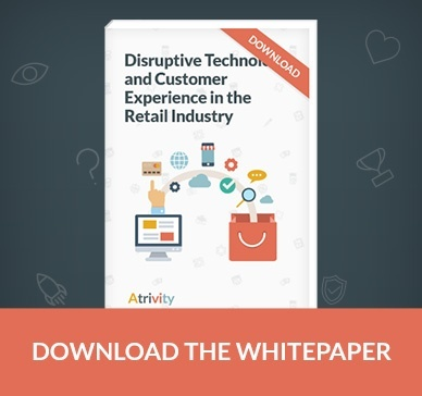 Whitepaper cover Disruptive Retail Tech and Customer Experience